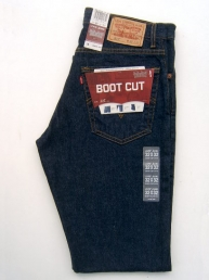 Levis 517 Dark Denim. Boot Cut.