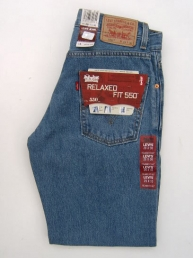 Levis 550 Regular Stonewash